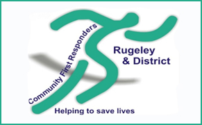 Link image for Rugeley and District Community First Responders Website