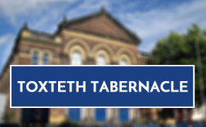 Link image for Toxteth Tabernacle, Liverpool Website