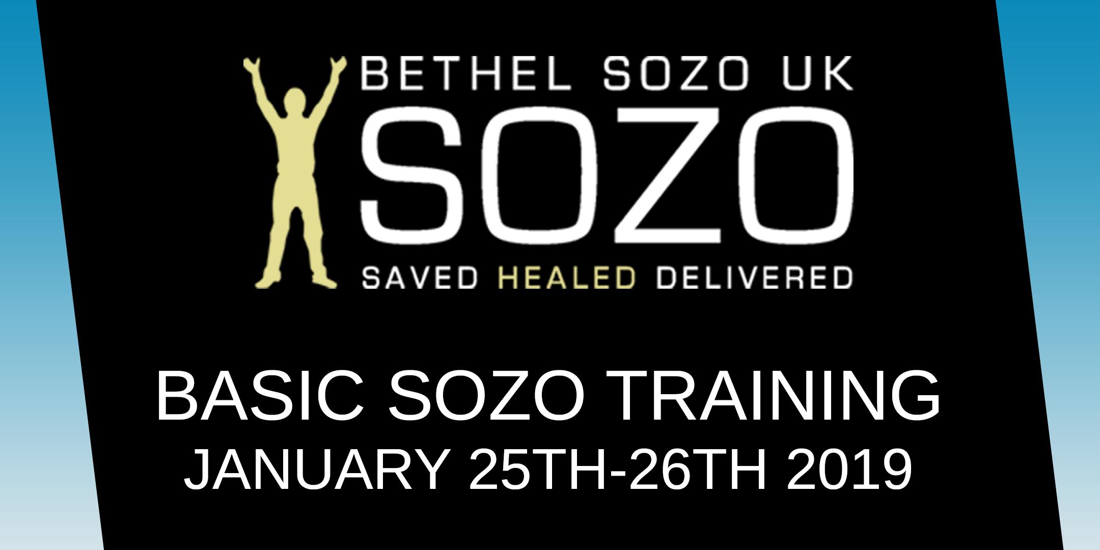 Sozo Training - Rugeley Community Church